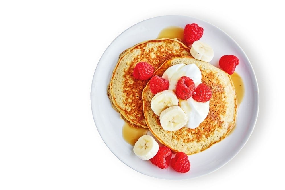 1200 Calorie High Protein Diet - banana pancake