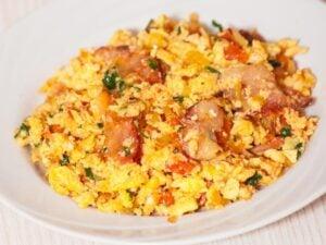 1200 Calorie Keto Meal Plan - southwestern eggs