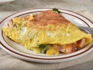 1200 Calorie Keto Meal Plan - turkey omelet