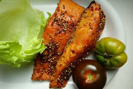1700 calorie meal plan to Lose weight - smoked salmon