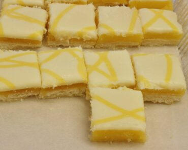 Paleo lemon bars recipe