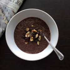 Vegan keto meal plan - chia pudding