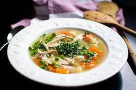 Bariatric meal plan after surgery - chicken broth