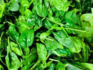 13 days diet plan - spinach