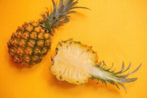 healthy skin diet plan - pineapples