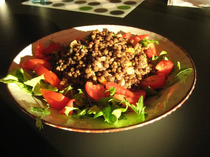 High protein plant based meals