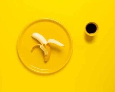 Vegan banana smoothie