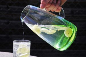 Boiled lemon detox