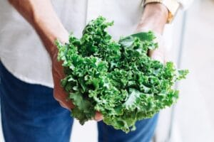 Foods to break intermittent fasting - spinach kale