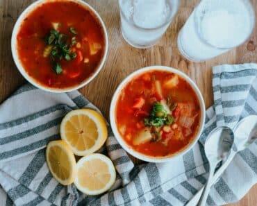 Turkish Mediterranean Soup