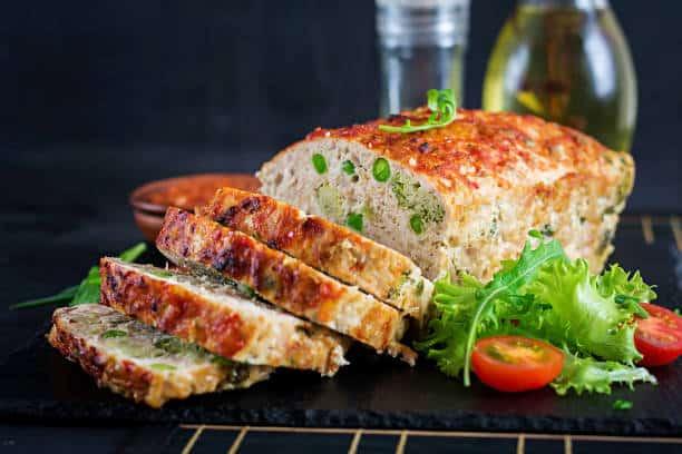 Keto Chicken Parmesan Mini Meatloaf Recipe