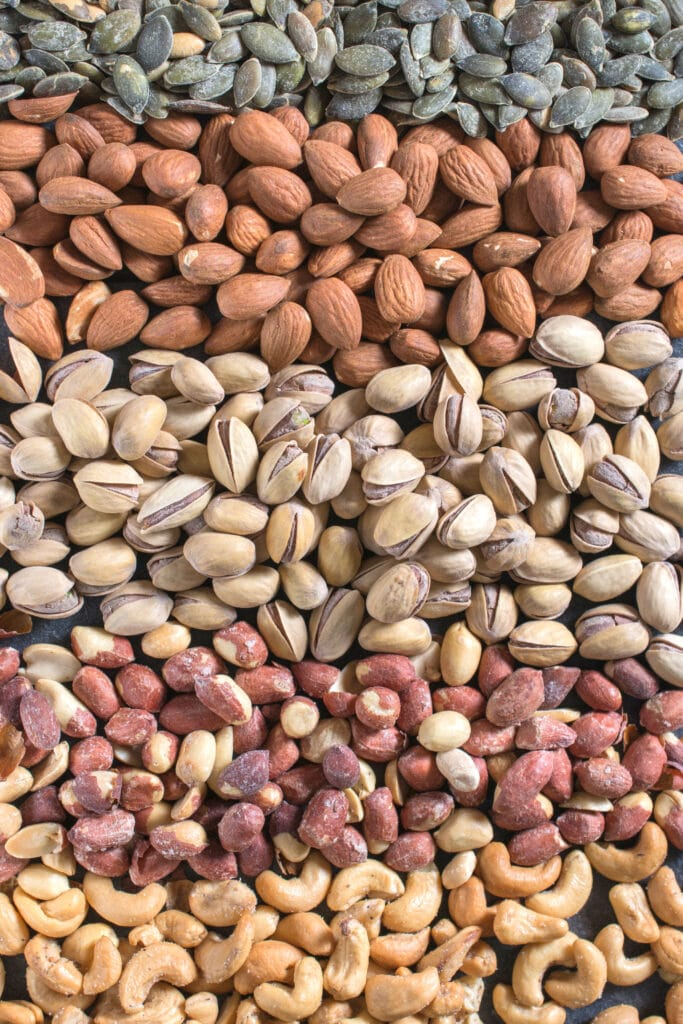 High Fat Low Carb Food List - Nuts