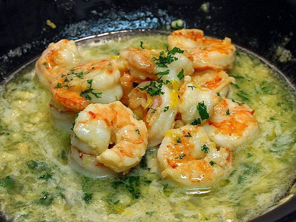 Best Creamy Keto Shrimp Scampi