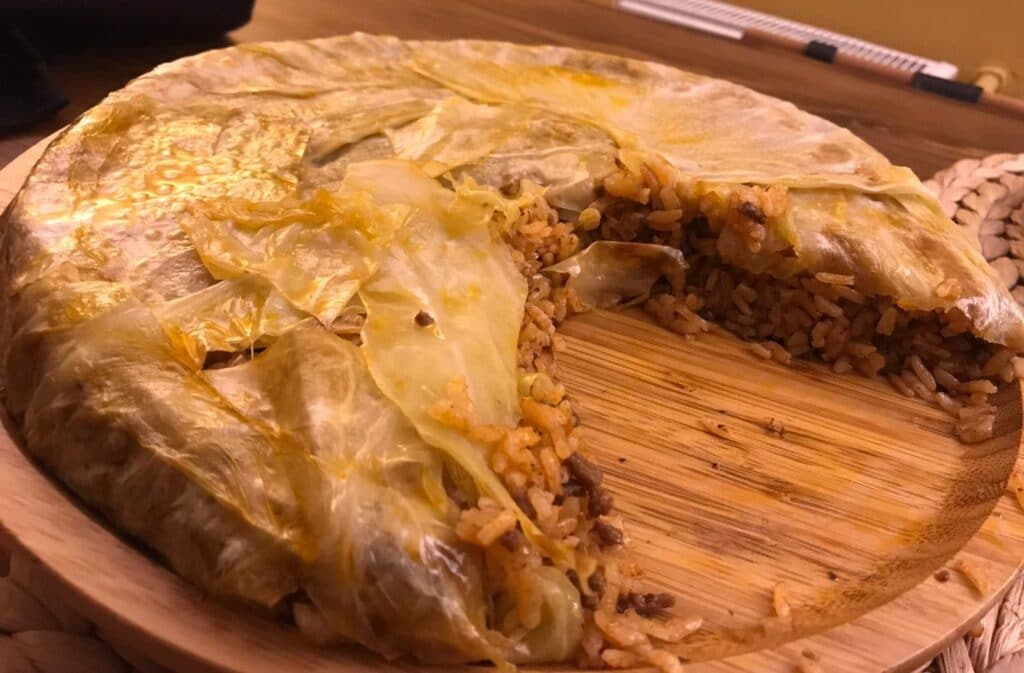 cabbage and ground beef recipe